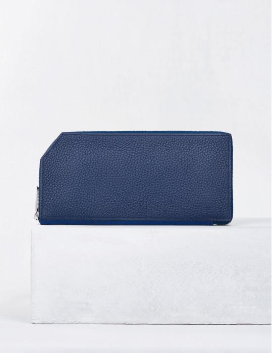 21.07 Zipped wallet Blue...